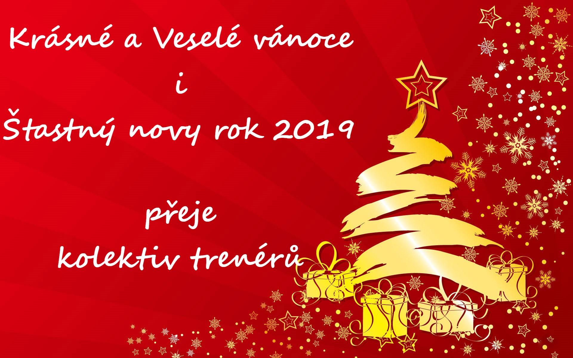 Veselé vánoční svátky 2019